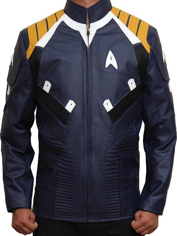 CHRIS PINE STAR TREK BEYOND COSTUME JACKET BLUE
