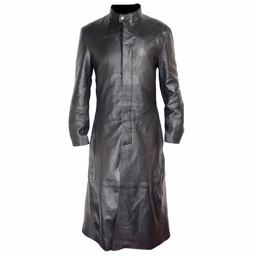 New Matrix Long Trench Coat